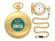 NCAA Men's North Carolina Wilmington Seahawks Pocket Watch Gold 9SIA5SN5N42237