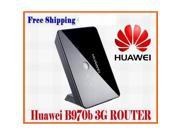 Huawei B970b Unlocked Original 3G Wireless Router Unlocked HSDPA WIFI Router Black