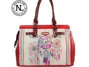 Nicole Lee Dorothy Dream Catcher Print Overnighter Bag
