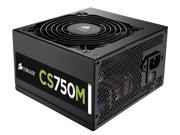 Corsair CP-9020078-NA Corsair CS Series Modular CS750M - 750 Watt 80 PLUS Gold Certified PSU - 110 V AC, 220 V AC Input Voltage - Internal - Modular - 92% Efficiency - 750 W