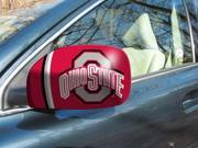 FANMAT Ohio State Small Side View Mirror Covers Pair