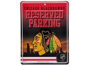Chicago Blackhawks - Reserved Parking Metal Sign 9SIA5VG4GM7920