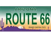 AZ Route 66 Photo License Plate   Free Personalization on this Plate