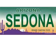 Arizona SEDONA Photo License Plate  Free Personalization on this Plate