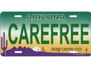 Arizona Carefree Photo License Plate  Free Personalization on this Plate
