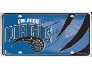 Orlando Magic Metal License Plate