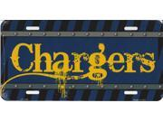 San Diego Chargers Construction License Plate