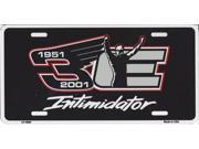 Dale Earnhardt 1951-2001 #3 Intimidator Plate