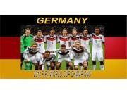 Germany 2014 World Cup Champs Photo License Plate 9SIA5VG2F92982