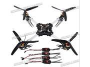 GLB X400 QuadCopter Friber Glass Folding ARF PNP Set KK Controller multicopter