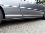 00 05 BMW 3 Series 8p Luxury FX Chrome 1 3 16 Accent Door Rocker Molding Trim