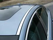 2009-2014 Jaguar XF 2pc. Luxury FX Chrome Roof Insert Trim