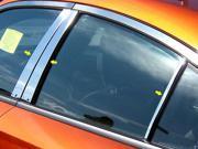 2011-2014 Dodge Charger 6pc. Luxury FX Chrome Pillar Post Trim