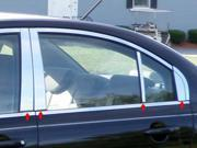2006-2011 Hyundai Accent 8pc. Luxury FX Chrome Pillar Post Trim