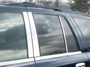 2002-2009 GMC Envoy 6pc. Luxury FX Chrome Pillar Post Trim