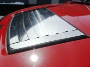 2006-2009 Hummer H3 9pc. Luxury FX Chrome Hood Vent Trim