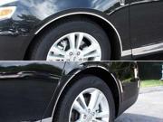 09 12 Lincoln MKS 8p Luxury FX Chrome Fender Trim w Gasket Cut To Rocker