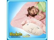 Authentic Pillow Pet Prayer Lamb Blanket Plush Toy Gift