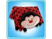 Authentic Pillow Pet Ms. Lady Bug Blanket Plush Toy Gift