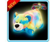 """Authentic LED Bear Rainbow Pillow Pets Glow Pets Large 17"""" Toy Gift"""