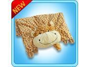 Authentic Pillow Pet Jolly Giraffe Blanket Plush Toy Gift