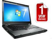 """Lenovo Thinkpad T430 - i5-3320M 2.6GHz - 8GB Memory - 128GB SSD - 14"""" HD - Windows 7 Pro 64 - REFURBISHED  1 YEAR WARRANTY"""