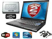 "Lenovo ThinkPad T420 - 1600x900 Res I5-2520 2.5GHz - 4GB RAM - 160gb SSD - HIGH SPEED WIFI - DVD - 14"" - Win 7 Pro - 2 YEAR WARRANTY!"