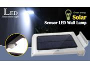 Motion detected solar light Integrated Solar LED Street Light all in one Solar Panel light 5.5V 1.6W 46-LED