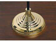 Gold Styrene Stick Flag Table Base