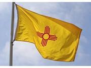 New Mexico State Flag - 3' x 5' - Nylon - PN: 64-100-10062 9SIA5WX1ZG2438