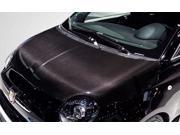 2012-2013 Fiat 500 Carbon Creations OEM Hood - 1 Piece