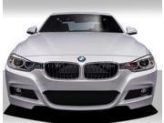 2012-2014 BMW 3 Series 4DR F30 Duraflex M Sport Look Front Bumper Cover - 1 Piece