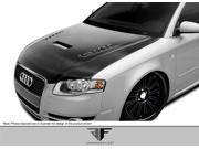 2006-2008 Audi A4 S4 2DR 4DR Wagon AF-1 Hood (CFP) - 1 Piece