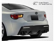 2013-2014 Scion FR-S Subaru BRZ Carbon Creations 86-R Rear Bumper Cover - 1 Piece