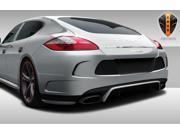 2010-2013 Porsche Panamera Eros Version 4 Rear Bumper Cover - 1 Piece
