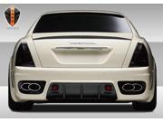 2005-2007 Maserati Quattroporte Eros Version 1 Rear Bumper Cover - 1 Piece