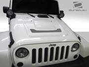 2007-2014 Jeep Wrangler Duraflex Heat Reduction Hood - 1 Piece