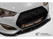 2012-2013 Hyundai Veloster Turbo Duraflex GT Racing Front Splitter - 1 Piece