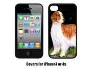 Carolines Treasures SS8482IP4 Starry Night Welsh Springer Spaniel Cell Phone Cover Iphone 4