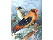 Bird - Strawberry Finch Flag Garden Size 9SIA00Y51Y0701