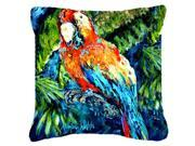Yo Yo Mama Parrot Canvas Fabric Decorative Pillow MW1204PW1818 9SIA5XC3PM9596