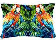 Parrots Yo Yo Mama Fabric Decorative Pillow MW1216PW1216 9SIA5XC4DY6951