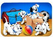 Dalmatians playing ball Kitchen or Bath Mat 24x36 APH9058JCMT 9SIA5XC4DY7355