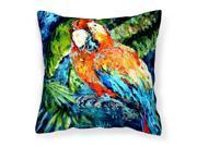 Yo Yo Mama Parrot Canvas Fabric Decorative Pillow MW1204PW1414 9SIA00Y51K7159