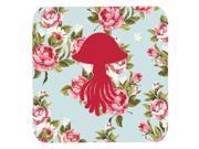 Set of 4 Jellyfish Shabby Chic Blue Roses Foam Coasters 9SIA5XC1YX4646