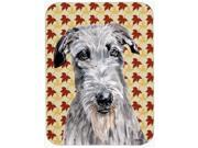 Scottish Deerhound Fall Leaves Mouse Pad, Hot Pad or Trivet SC9682MP