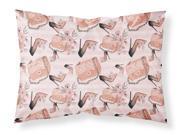 Fashion Diva Shoes and Purses Fabric Standard Pillowcase BB7506PILLOWCASE (9SIA00Y62R7346 Caroline's Treasures) photo