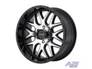 20 American Racing AR910 Black Machined Wheel 20x9 6x5.5 0mm AR91029068300 Rim