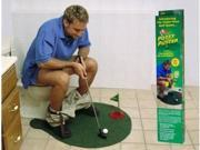 1Set Potty Putter Toilet Golf Game Mini Golf Set Toilet Golf Putting Green