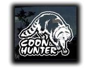 Coon Hunter Hunting Decals 7 Inch